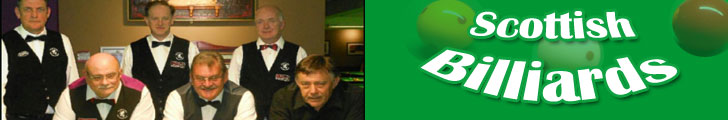 Scottish Snooker Presents all the Scottish Billiards Tournament Results