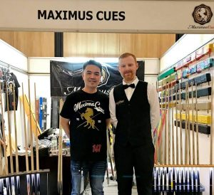 Under 16 Tour Sponsor - Maximus Cues