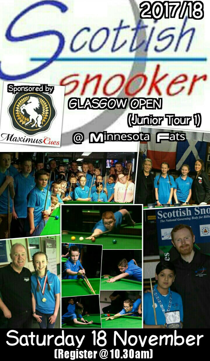 Scottish Snooker - Junior Tour Event 1 - Minnesota Fats