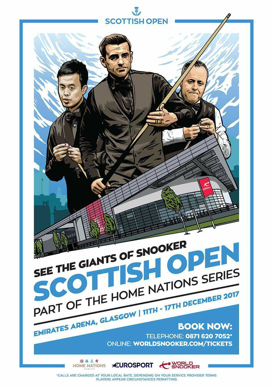 World Snookers 'Scottish Open' - Part of The Home Nations Series