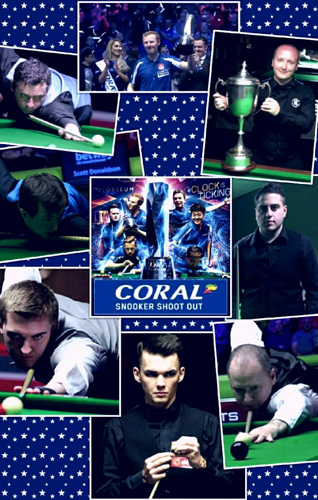 Coral Snooker Shoot Out 2018 - Scottish Players Taking Part